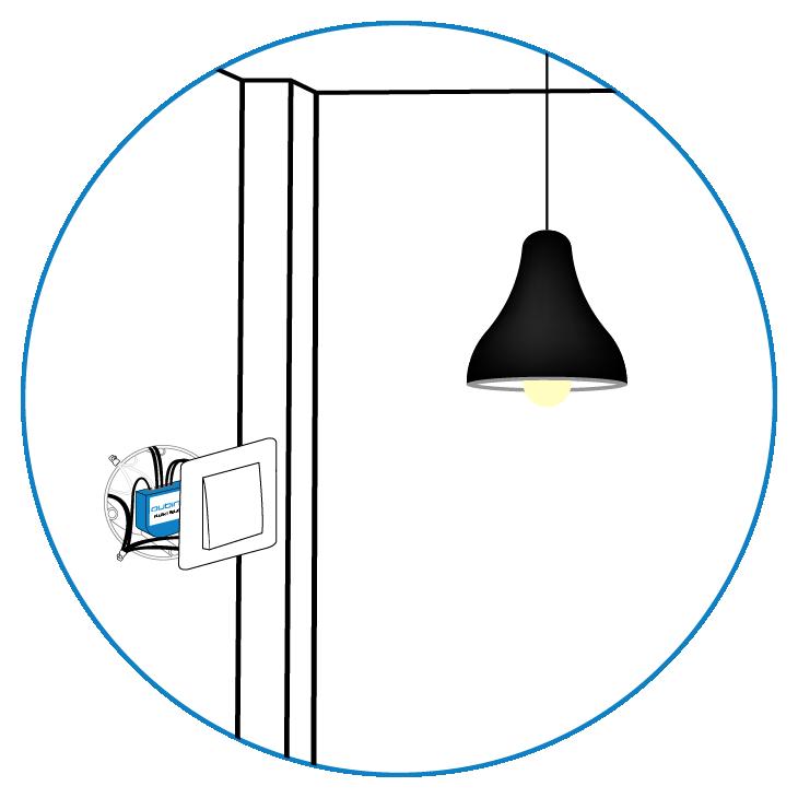 Qubino Flush 1 Relay installation